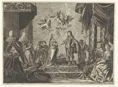 Huwelijk van prins Willem II en Maria Stuart, 1641