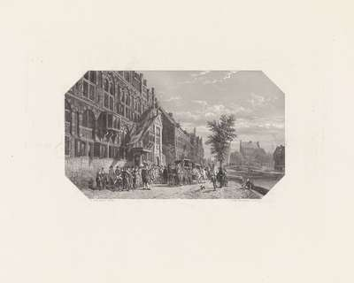 Schuttersdoelen te Amsterdam, ca 1650