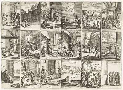 Wreedheden jegens de Ierse protestanten, 1642