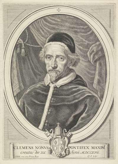 Portret van paus Clemens IX
