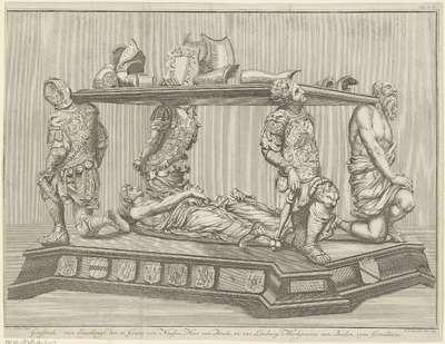 Grafmonument voor Engelbrecht II, graaf van Nassau-Dillenburg-Breda, 1504