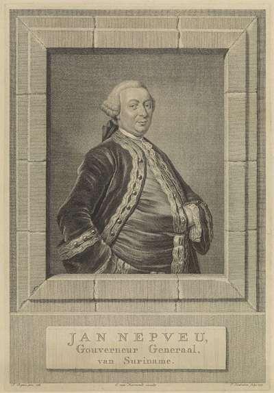 Portret van Jan Nepveu; Jan Nepveu