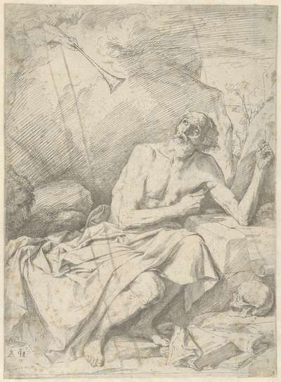 Heilige Hieronymus en de trompet