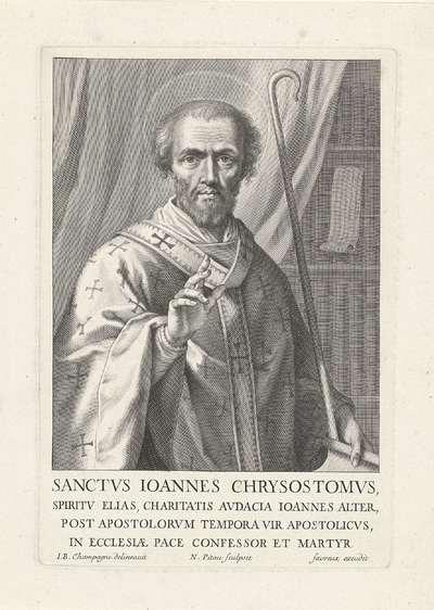 Portret van H. Johannes Chrysostomus