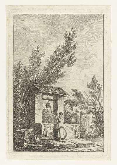 Waterput; Les Soireés de Rome; Romeinse gezichten