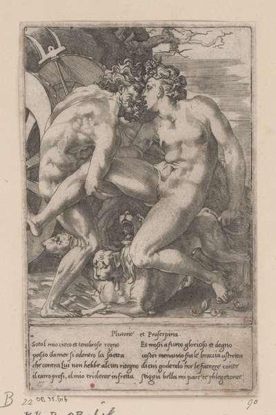 Pluto en Proserpina; De liefdes van de goden; Godenliefden