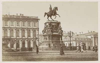 Image from object titled Monument voor Nicolaas I in Sint Petersburg; Nikolas statyn St. Petersburg