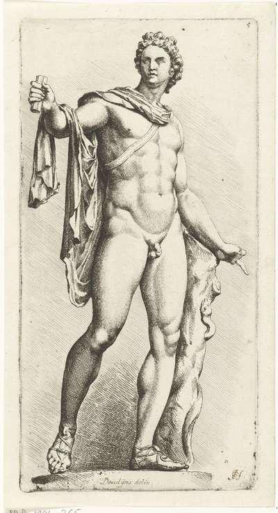 Apollo Belvedere; Signorum Veterum Icones I