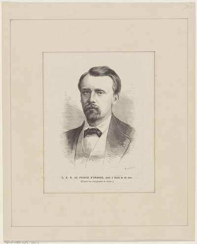 Portret van Willem, prins der Nederlanden