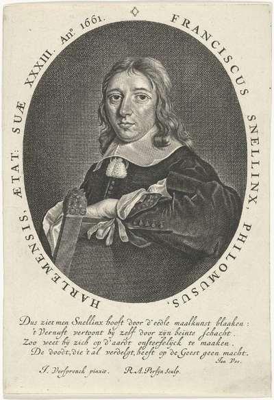 Portret van Franciscus Snellinx