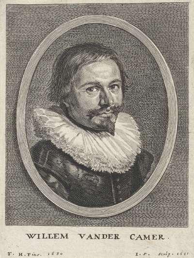 Portret van Willem van der Camer