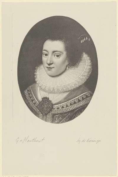 Portret van Amalia van Solms