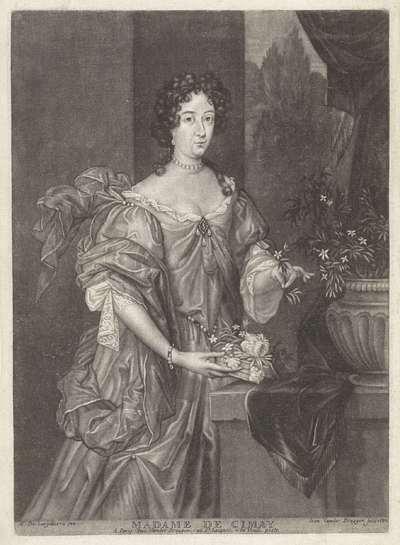 Portret van Maria Antonia de Cardenas Ulloa Balda Zuniga y Velasco, prinses van Chimay; Madame de Cimay