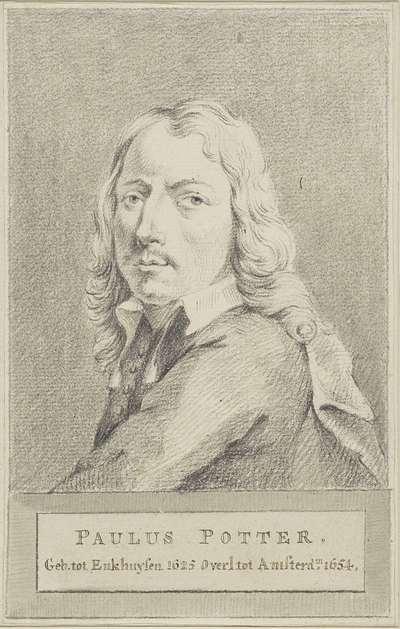 Portret van Paulus Potter