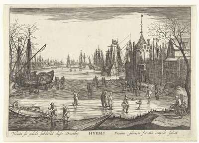 Winter; Hyems; De vier seizoenen in zeegezichten