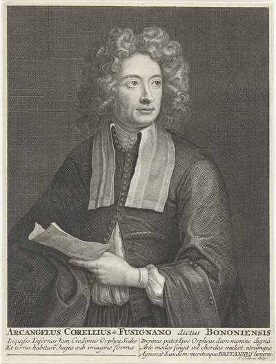 Image from object titled Portret van Arcangelo Corelli