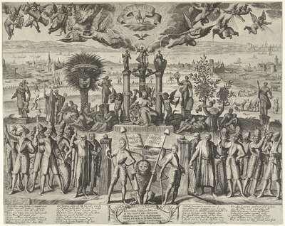 De gelukkige staat der Nederlanden, 1603