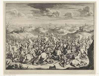 Slag van Lekkerbeetje, 1600