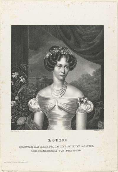 Portret van Louise van Pruisen