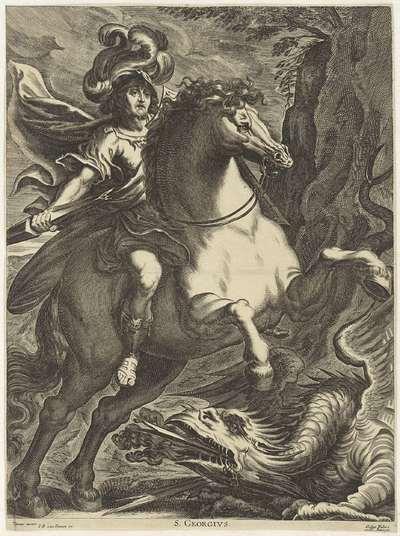 De heilige Joris en de draak