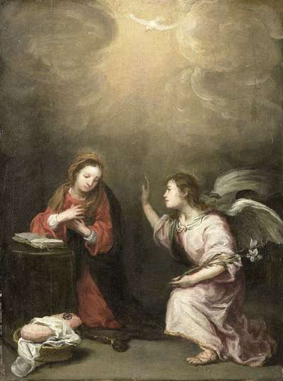 Image from object titled The Annunciation