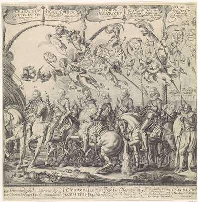 Triomftocht van Willem van Oranje, rechterplaat