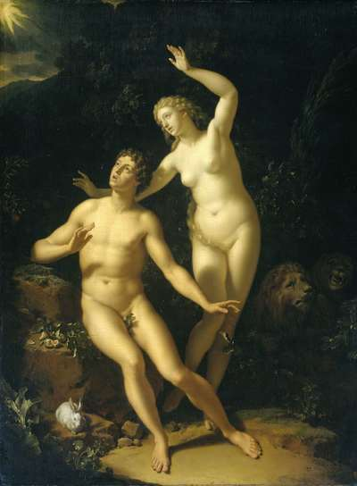 Image from object titled God Holds Adam and Eve Responsible