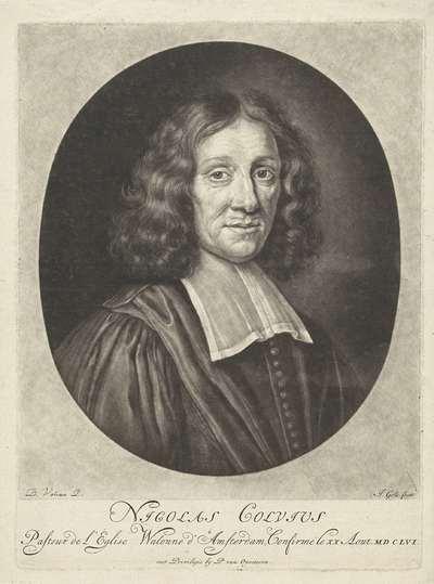 Portret van Nicolas Colvius