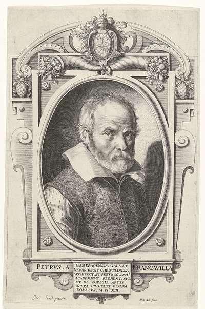 Portret van Pietro Francavilla (Pietro Franqueville)