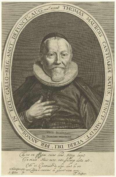 Portret van Thomas Maurois