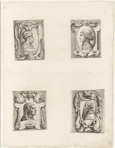 Portret van sultan Mehmet II; Portret van Sigismondo Pandolfo Malatesta; Portret van Angelo da Castro; Portret van Pietro Bembo; Portretten van Europese heersers