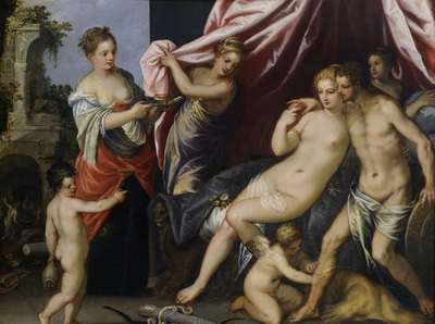 Image from object titled Venus and Mars