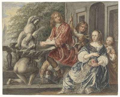 Cornelis de Wit en zijn familie