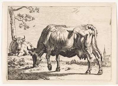 Grazende koe; Het Bullenboekje