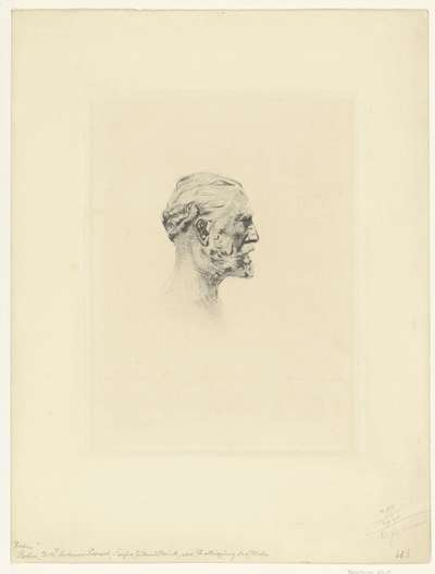 Portret van Antonin Proust