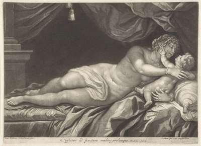 Venus en Amor; Nascitur ad fructum mulier, prolemque