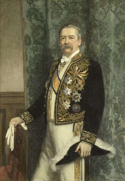 Image from object titled Willem Rooseboom (1843-1920). Gouverneur-generaal (1899-1904)