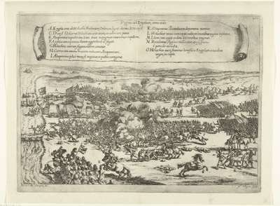 Veldslag bij Engelen, 1587; Pugna ad Engelam, anno 1587