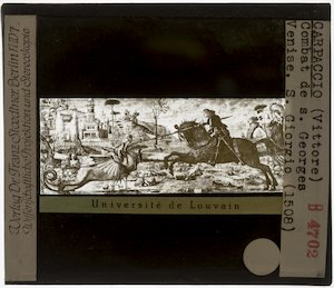 Vittore Carpaccio. Cyclus van Sint-Joris; Sint-Joris en de draak