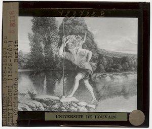 Image from object titled Orazio Gentileschi. Heilige Christoffel