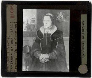 Pieter Pourbus. Portret van Jacquemyne Buuck