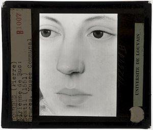 Pieter Pourbus. Portret van Jacquemyne Buuck; Detail: Gezicht