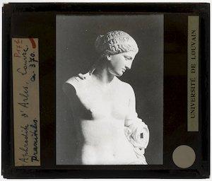 """Aphrodite """"De Venus van Arles""""; Voor de restauratie"""