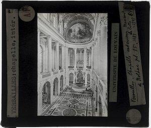 Versailles. Château de Versailles; Interieur: Kapel