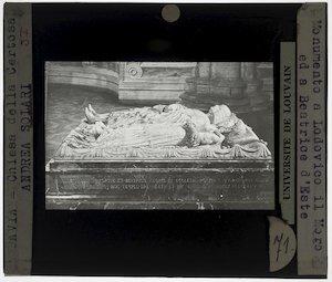 Cristoforo Solari. Grafmonument van Ludovico il Moro en Beatrice d'Este