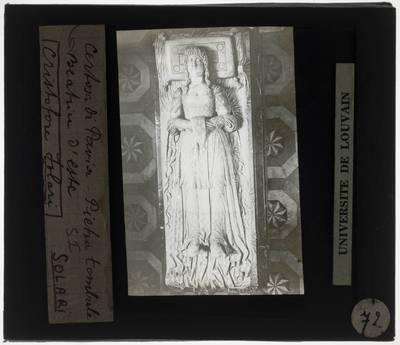 Cristoforo Solari. Grafmonument van Ludovico il Moro en Beatrice d'Este; Detail: Beatrice d'Este