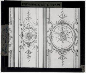 Versailles. Petit Trianon; Interieur: Ornamenten
