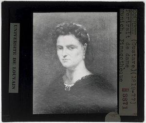 Gustave Courbet. Portret van een vrouw