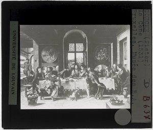 Image from object titled Pieter Coecke van Aelst. Het Laatste avondmaal