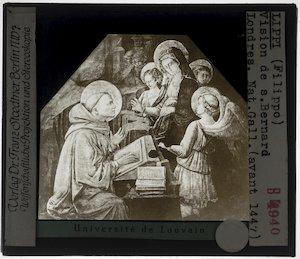 Filippo Lippi. Visioen van de Heilige Bernardus